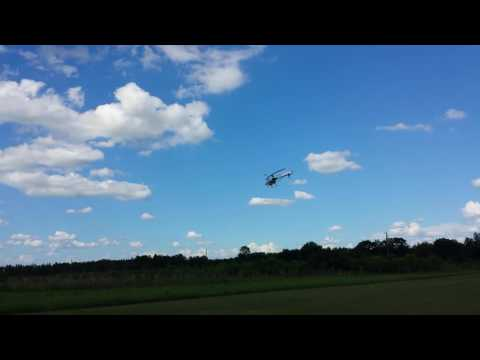 Eyal Plotnik fly the T-REX 450 at Bay City Flyers Memorial W
