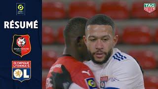 STADE RENNAIS FC - OLYMPIQUE LYONNAIS (2 - 2) - Résumé - (SRFC - OL) / 2020-2021