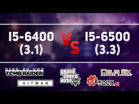 i5-6400 vs i5-6500 (GTX 1060)
