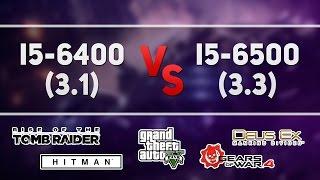 i5 6400 vs i5 6500 gtx 1060