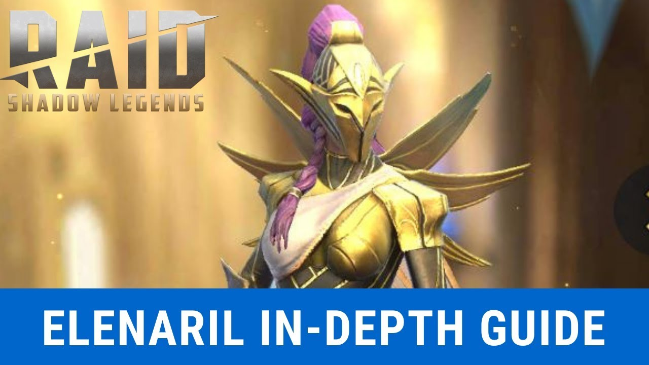 Elenaril In-Depth Guide/Review| Raid: Shadow Legends - Смотреть