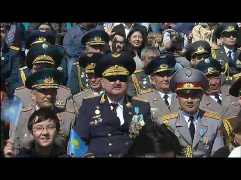 видео: Военный парад в Астане | 07.05.17