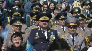 Военный парад в Астане | 07.05.17