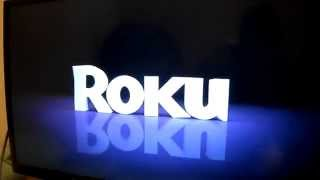 Installation Roku 3 Streaming media player 1080P HD HDTV netflix channels hulu vimeo crackle faceboo