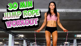 30 Minute Fat Burning Jump Rope Workout At Home