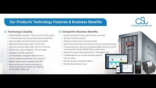 What we do: provide cloud based saas software: cloud-hrms, tradeplus, cloud-payroll, cloud-accounts, cloud-crm, cloud-hospital erp, cloud-garments/manufac...