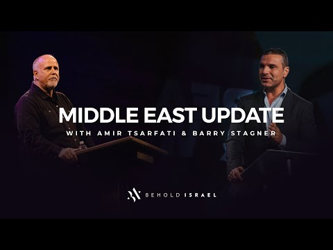 Amir Tsarfati: Middle East Update with Pastor Barry Stagner, January 13, 2020