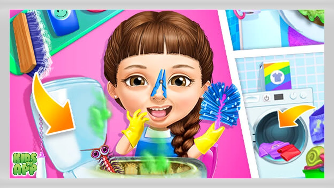 Cleaning Games for Girls - Girl Games