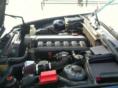 Engine Bmw E34 525i 24v With K Amp N Youtube