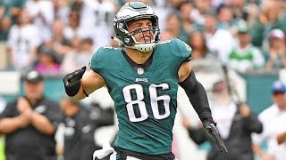 Every highlight from zach ertz's 2018-2019 nfl season!subscribe for more highlights!