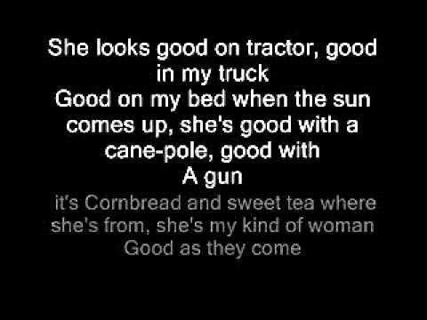 Justin moore My kind of woman lyrics