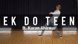 Ek Do Teen | Popping | Dance Choreography | Student's Playground video #4 | ft. Karan Ahirwar