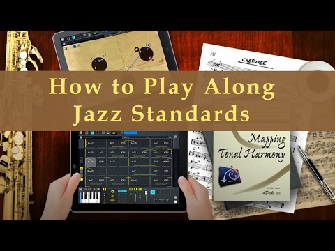 Jazz Standards Play Along on iPad Music Education Video