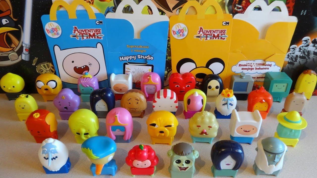 Cn Adventure Time Figures Series 2 1 Full Set In Happy