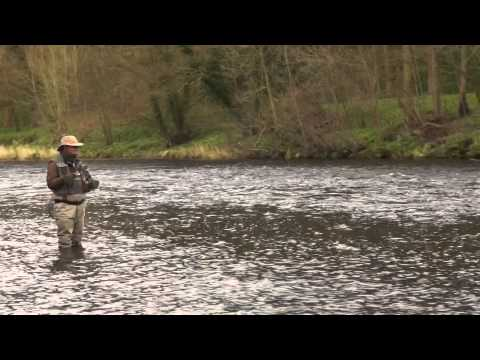 River fly fishing; March madness