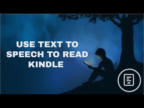 How to have kindle books read aloud android