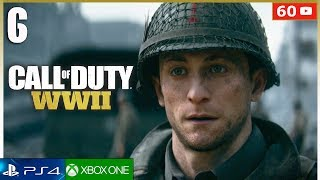 CALL OF DUTY WW2 Mision 6 Campaña Completa PS4   Gameplay Español Parte 6 (1080p 60fps)