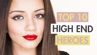 Top 10 HIGH END HERO Makeup Products | Kaushal Beauty, sunbeamsjess, Lexi A-N, Sonya Esman Best Bits