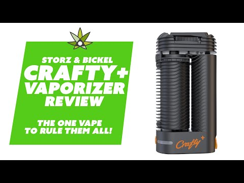 The Updated Crafty Plus Vaporizer