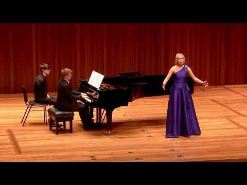 Soprano Mirjam Mesak - Ach jaky źal... Ten làsky sen (Bartered Bride) - B.Smetana