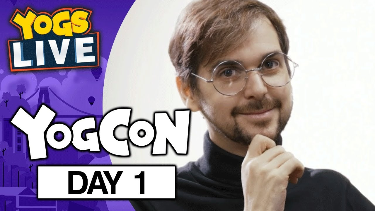 YOGCON 2019 – TWITCH STAGE DAY 1 – 03/08/19