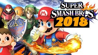 Super Smash Bros for Switch in 2018 - The Know Game News
