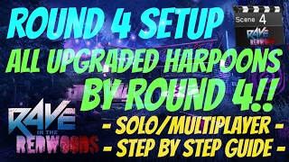 All 9 Statue Locations & All 4 Upgraded Harpoons By Round 4 (Patched) Guide | Rave In The Redwoods |
