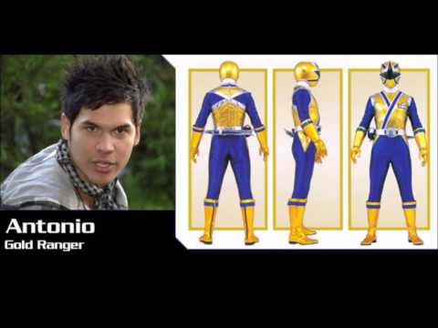 My top 5 most handsome gold ranger