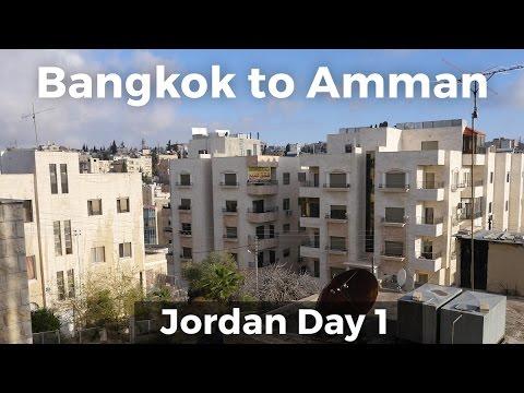 Bangkok to Amman, Jordan!