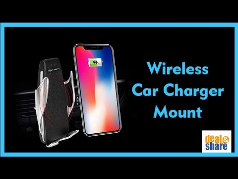Unboxing Smart Sensor Car Wireless Charger S5 - YouTube