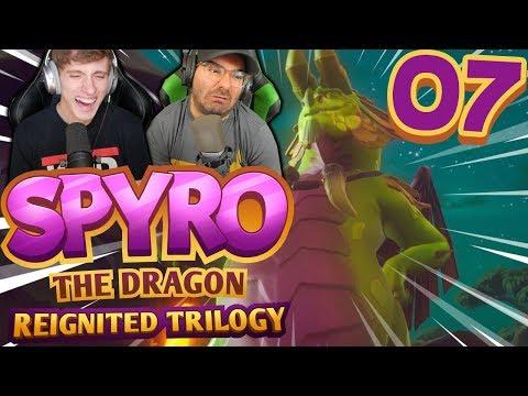 19 TURNS!!! | Spyro Reignited Trilogy Part 7: [Spyro the Dragon Co-Op]