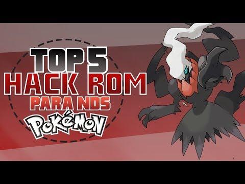 Top 5 Hack Roms Pokemon Ds - [DarkFex]