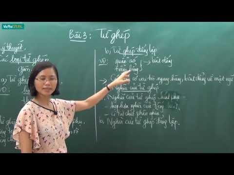 [Học online] TỪ GHÉP _ Ngữ văn 7 _ TS. Trần Thị Vân Anh