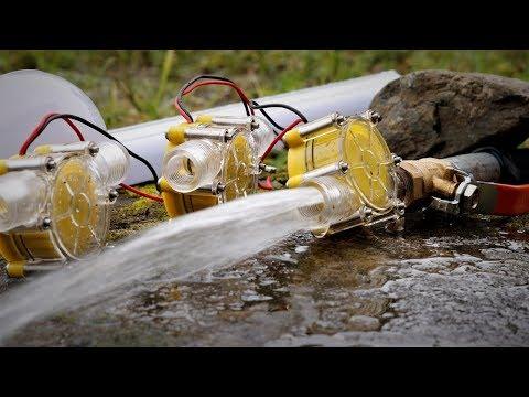 Free Energy from Stream , Micro hydro turbines. | DIY |