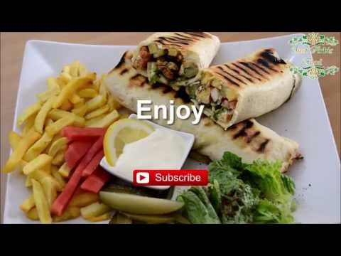 Chicken Shawarma - Syrian recipe - just Arabic food