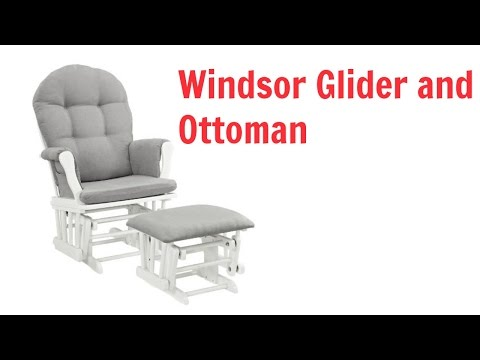 Windsor Glider and ottoman Review | Best Nursery Glider