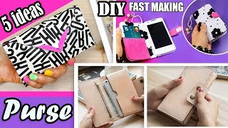 ADORABLE 5 DIYs PURSE & PHONE CASE • Woman Wallet Phone Case You Have to Try