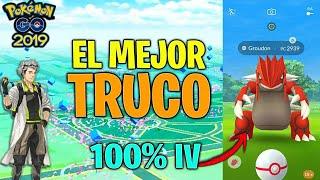 (ARREGLADO) EL MEJOR TRUCO de POKEMON GO (2019) !! GROUDON 100% POTENCIADO!! - Pokemon Go
