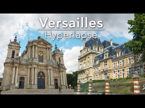 Versailles - Hyperlapse | 4K