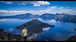 Crater Lake Hiking & Swimming
