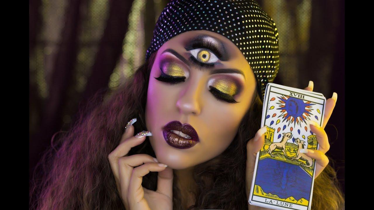 fortune teller gypsy third eye hallowe youtube