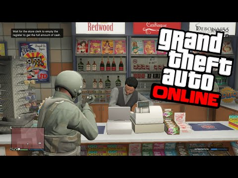 GTA 5 Online: Rob Stores Unlimited Amount Of Times! (Unlimited Money Glitch!)