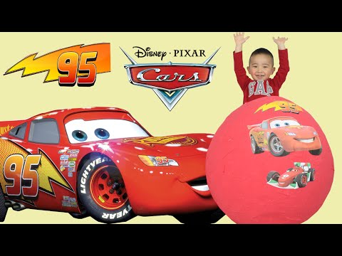 Thumbnail: 100+ Disney Pixar Cars Toys Giant Egg Surprise Opening Lightning McQueen CKN Toys