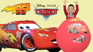 100+ Disney Pixar Cars Toys Giant Egg Surprise Opening Lightning McQueen CKN Toys thumbnail