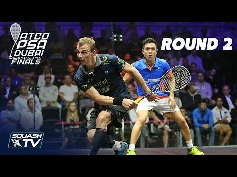 Squash: World Series Finals 2017/18 - Men\'s Rd 2 Roundup