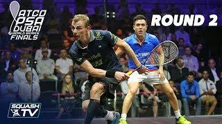 Squash: World Series Finals 2017/18 - Men's Rd 2 Roundup