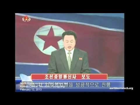 North Korean TV Announces Third Nuclear Test x AutoCurate.com