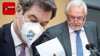 #kubicki #söder #coronafdp-vize wolfgang kubicki übt harsche kritik an bayerns ministerpräsident markus söder über seinen facebook-kanal. dabei wirft der bun...