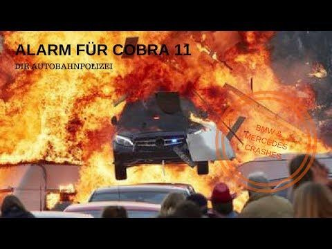 Alarm für Cobra 11 - Semir's BMW F30 & Paul's Mercedes W205 crashes #2