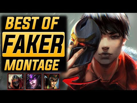 "Faker ""The Greatest Player"" Montage 2017 (Best Of Faker) 